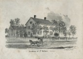 The historic Holmestead circa 1856.
