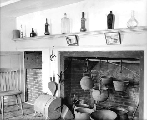 The Old Fireplace - May 2010 - fineartistmade blog