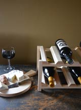 handcrafted wine racks