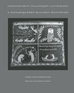 Passamaquoddy-Maliseet Dictionary